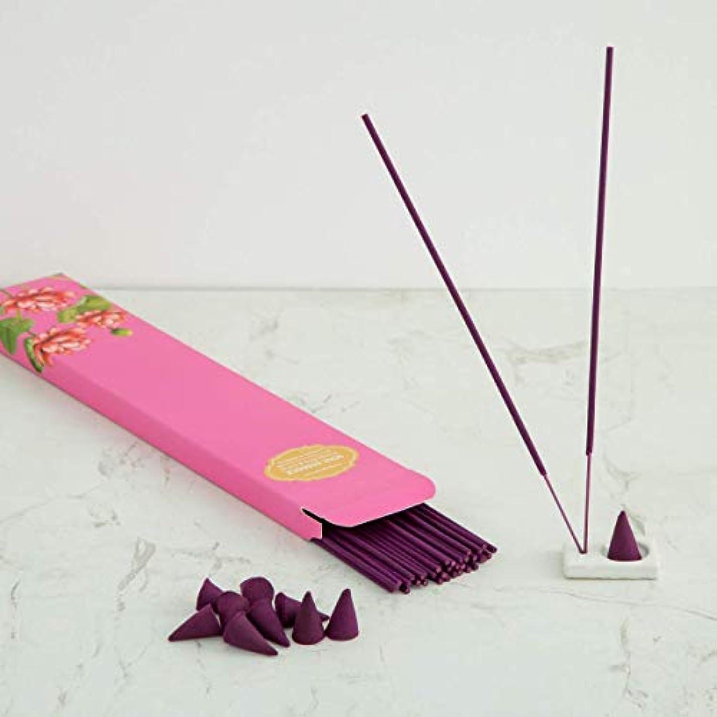 パキスタン出くわすビーズHome Centre Redolance Chirping Woods Incense Sticks and Cones - Purple