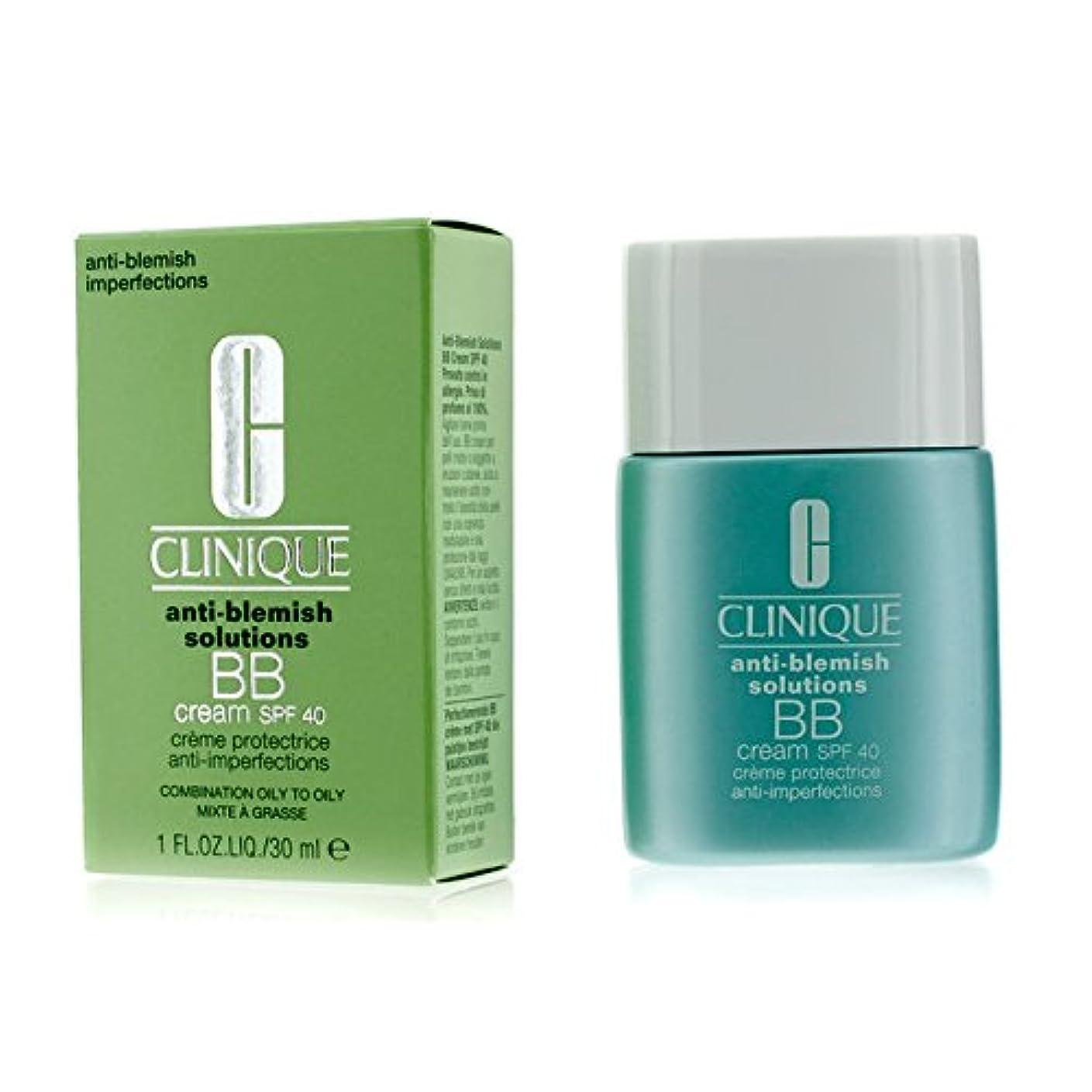ポスター偽造おもてなしクリニーク Anti-Blemish Solutions BB Cream SPF 40 - Light Medium (Combination Oily to Oily) 30ml/1oz並行輸入品