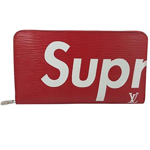 [해외]Supreme 라운드 지퍼 지갑 지갑 동전 지갑 대형화물 긴 지갑 카드 수납 여성 레드 패션 멋쟁이 인기/Supreme Round Zipper Long Wallet Wallet Large Wallet Long Wallet Card Storage Ladies Red Fashion Stylish Popularity