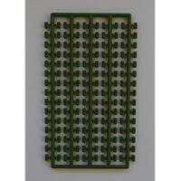 プラモブロック シート1×2 カーキグリーン BS012-KG