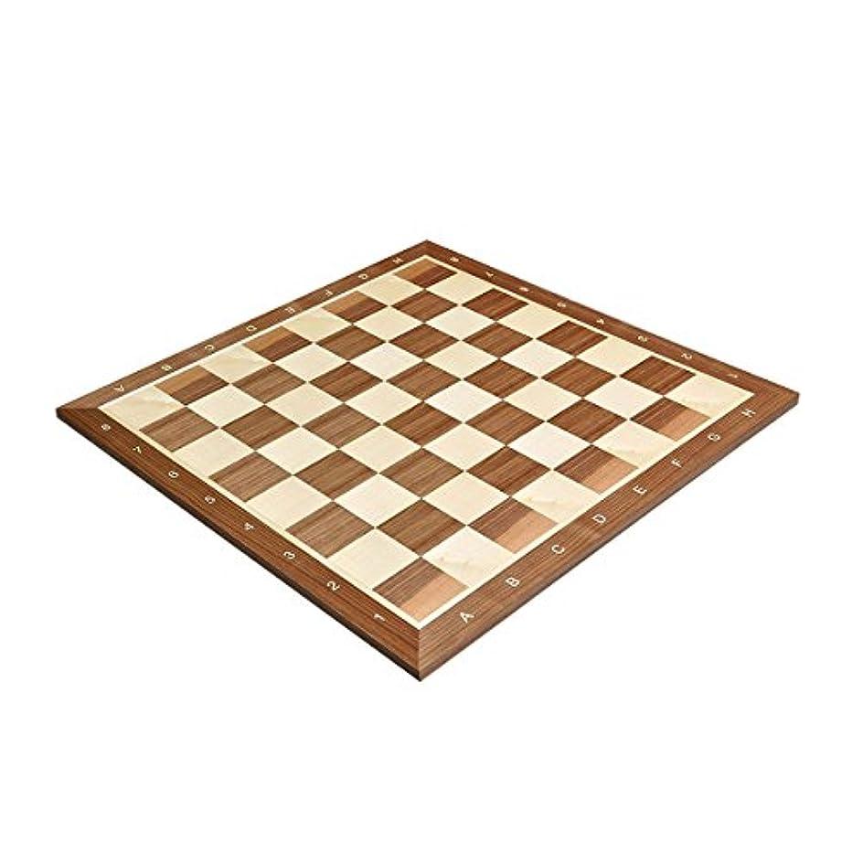Walnut & Maple Wooden Chess Board - 2.25