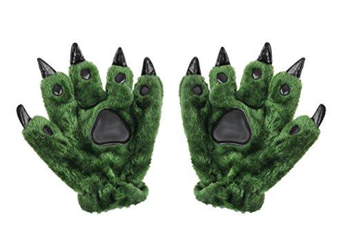 可愛い手袋 恐竜の手の形 爪付き 大人/...