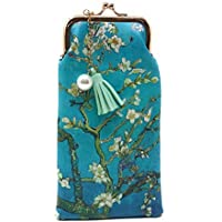 Value Arts Van Gogh's Almond Blossoms Eyeglass Case Pouch, 7 Inches Long