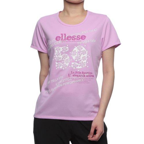 (エレッセ)ellesse グラフィクTシャツ ELB1305 CV コスモバイオレット M