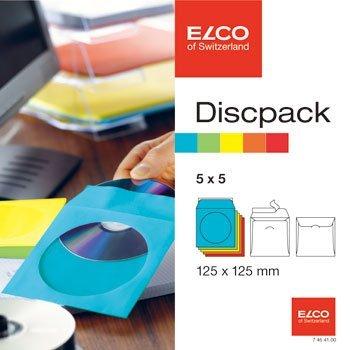 CDを配る時どうしてる?ELCOのジャストサイズ窓付き封筒がおしゃれで便利