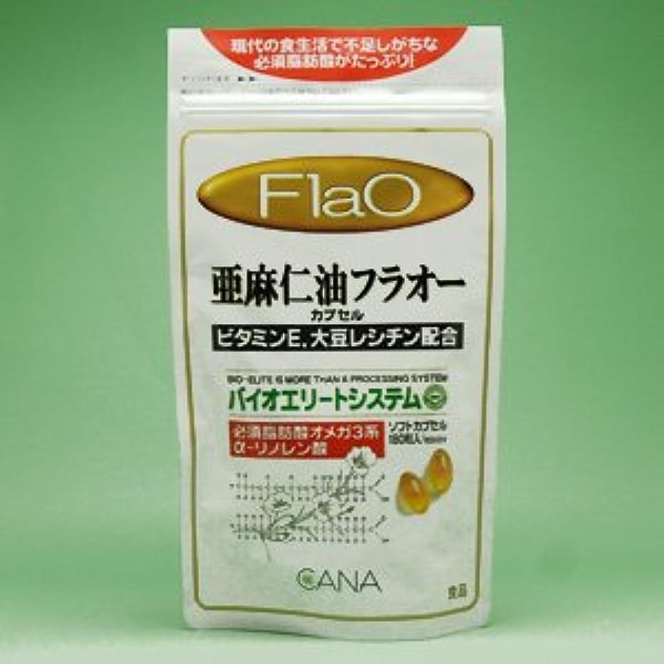 におい対応活発亜麻仁油 フラオーカプセル 180粒 ×6個セット