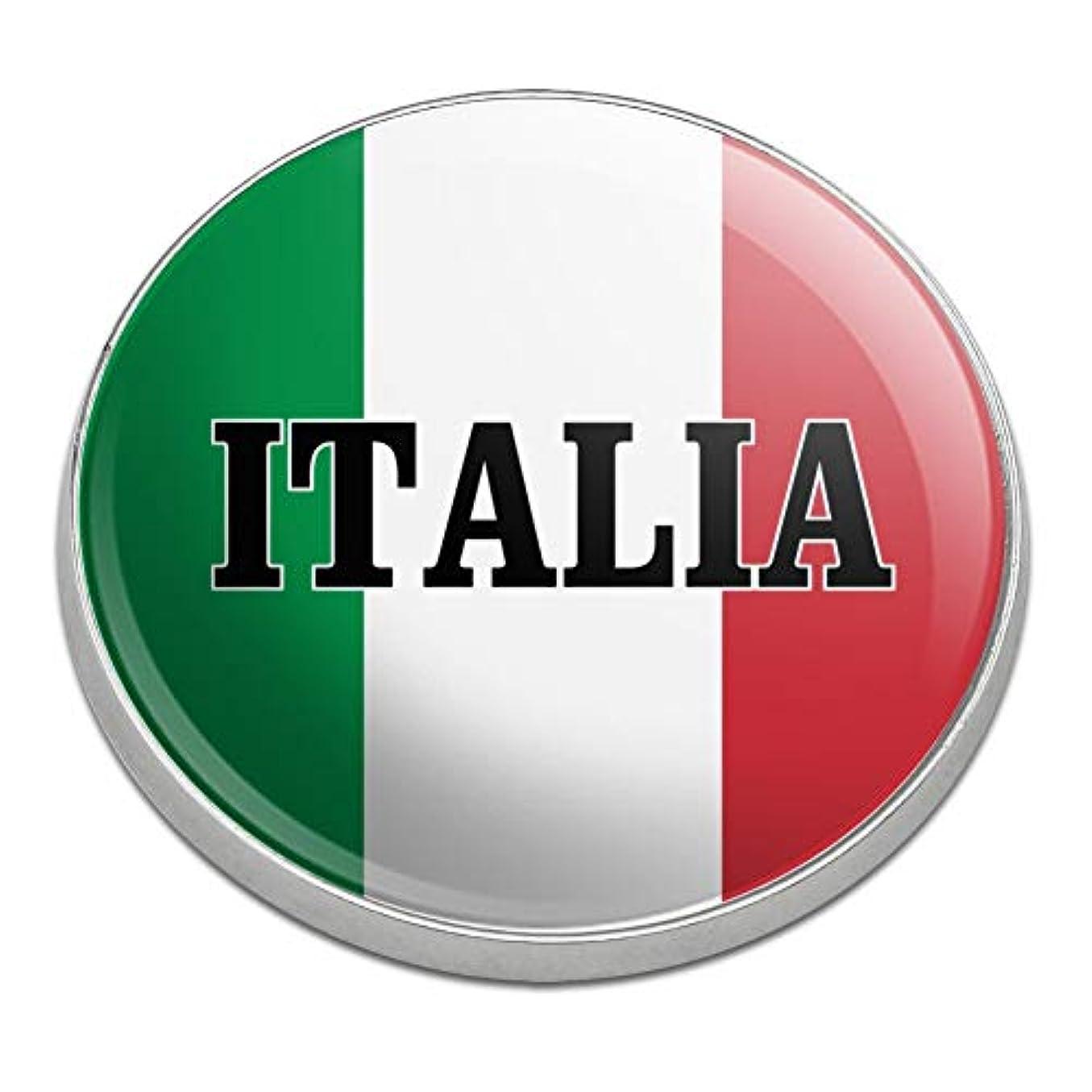 ご意見インタビューおじいちゃんイタリアイタリアイタリアの旗ゴルフプレミアムメタルゴルフボールマーカー