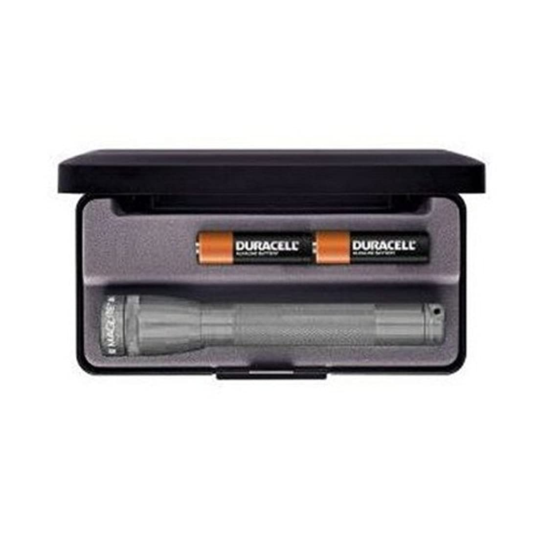 ポルノ修羅場エンドウMAGLITE MINI MAGLITE 2 AA LED FLASHLIGHT WITH PRESENTATION BOX (GREY) (Parallel Imported Product)