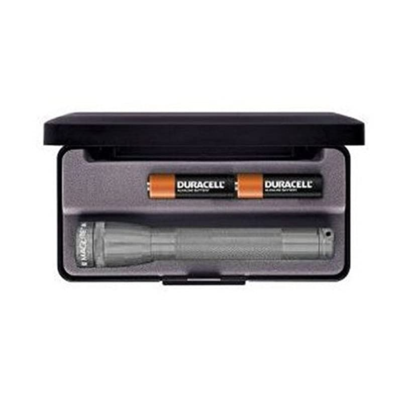 エーカー長々と魅力的であることへのアピールMAGLITE MINI MAGLITE 2 AA LED FLASHLIGHT WITH PRESENTATION BOX (GREY) (Parallel Imported Product)