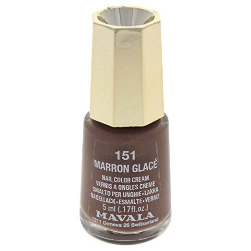 インターナショナル マヴァラ ネイルカラー 151 マロングラッセ(5mL)