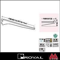 e-kanamono ロイヤル 棚受け ステンレススリムブラケット SUS-A-110 150 ステンレスヘアライン
