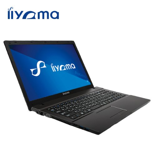 iiyama 15P5200-i5-QZM [Windows 8.1搭載](15.6型HD光沢液晶/Core i5-4210M/1TB/8GB/DVD MULTI) ノートパソコン