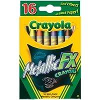 Bulk Buy : Crayola Metallic FXクレヨン16 / Pkg 52 – 8816 ( 3 - Pack )