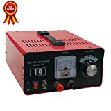 Beleeb AC バッテリー充電器(バイク~普通自動車) DC12V-10A, 24V-6A 用 急速・維持充電機能付 長期保証3年 (10A)