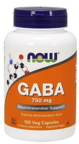 ギャバ GABA 750mg(ベジタリアンカプセル) 海外直送品