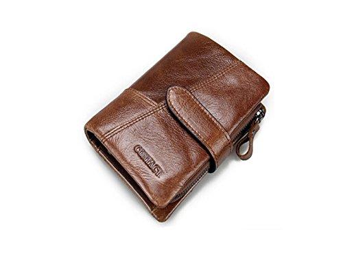 メンズ革財布 二つ折 小銭入れ付き  N1103-4...