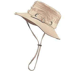 DivineShield ハット 釣り サファリハット 帽子 サンバイザー バケットハット 折りたたみ ひも付き 日焼け防止 登山 海水浴 アウアドア メンズ プレゼント 春夏 新作