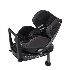 Recaro レカロ ゼロワン アッシュグレイ RC6303.21547.07 新生児~4才頃までの360°回転式チャイルドシート ISOFIX取付 ASPも標準装備のベーシックモデル