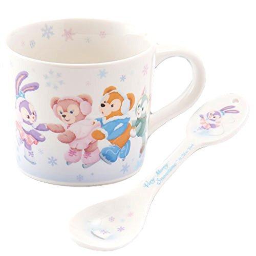 ダッフィー&フレンズ スープカップ スプーン付き アイススケ...