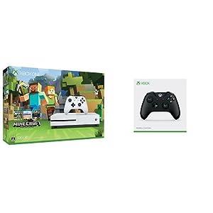 Xbox One S 500GB Minecraft 同梱版 (ZQ9-00068) + Xbox ワイヤレス コントローラー (ブラック)