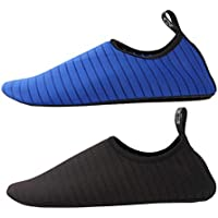 Upgrade Outdoor Water Sports Shoes Beach Socks -Quick Dry Swim Fins Shoes-Water Sport Shoes Fit for Water Waking, Beach Games, Swimming Pool,Surfing, Diving