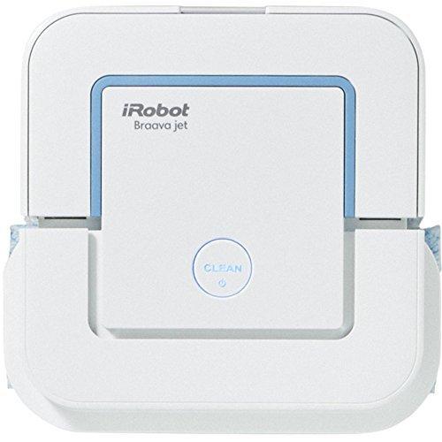 ブラーバ ジェット 240 アイロボット 床拭きロボット 水拭き から拭き ホワイト B240060 ロボット掃除機