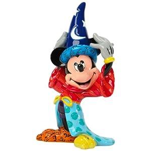 Britto Disney Sorcerer Mickey Mini Character/ロメロブリット/ディズニー/ミッキーマウス/フィギュア/並行輸入品