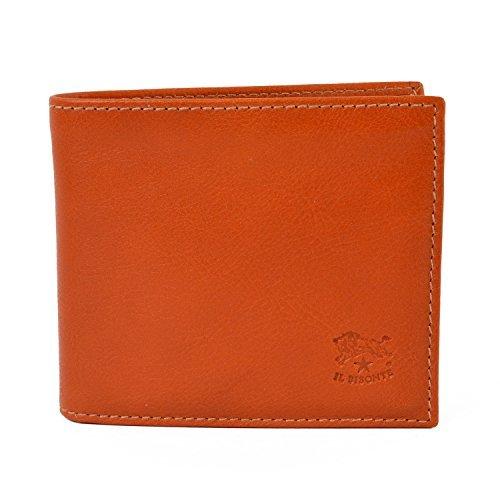 [イルビゾンテ] IL BISONTE 財布 二つ折り C0487 本革 レザー ウォレット (ブラウン(145))