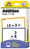 Constructive Playthings 4169 Flashcards – Addition Facts 11 – 18