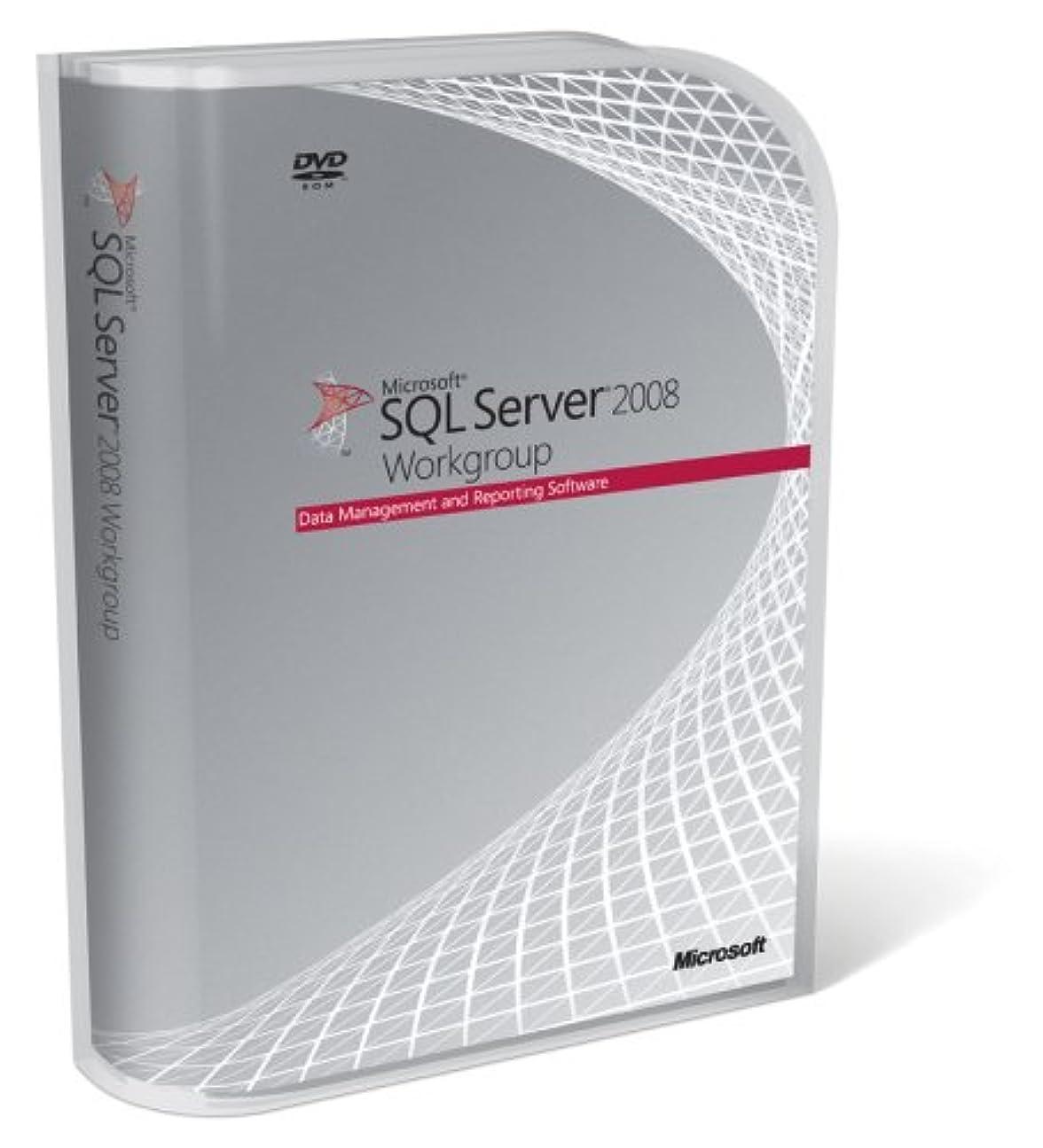 痴漢ハンマードライSQL Server 2008 Workgroup 日本語版 5CAL 付き