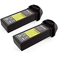 Potensic 3.7V 350mAHのリチウムバッテリーセット 過充電保護機能付 2個バッテリーセットFor U31W U36W T25ドローン