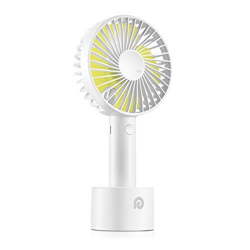 Dreamegg 携帯扇風機 USB扇風機 充電式でモバイル 手持ち ファン 風量3段階調節 小型なのに驚きの風量