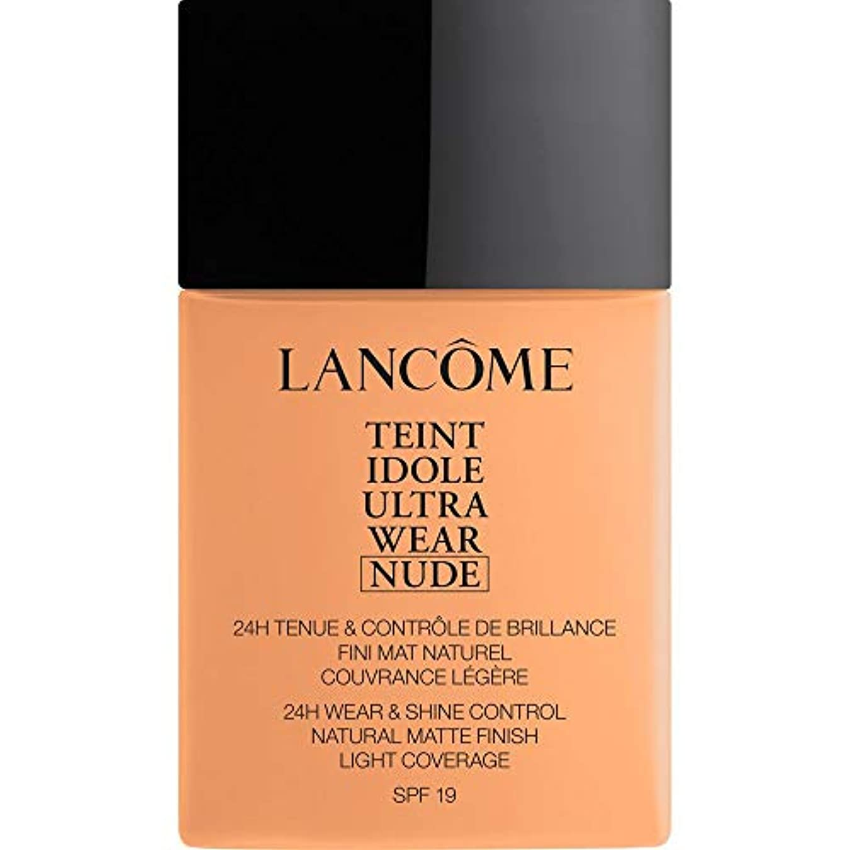 旋回くしゃくしゃ過度に[Lanc?me ] ランコムTeintのIdole超摩耗ヌード財団Spf19の40ミリリットル049 - ベージュのPeche - Lancome Teint Idole Ultra Wear Nude Foundation...