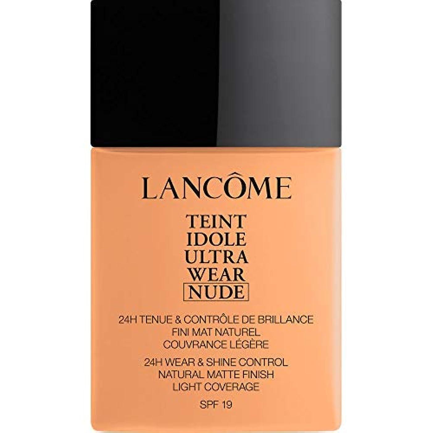 バルセロナ多様なかる[Lanc?me ] ランコムTeintのIdole超摩耗ヌード財団Spf19の40ミリリットル049 - ベージュのPeche - Lancome Teint Idole Ultra Wear Nude Foundation...