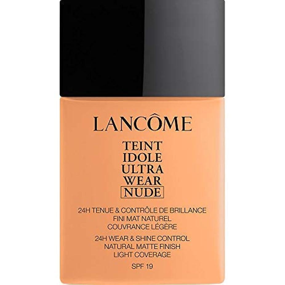 宿るベーシックロッカー[Lanc?me ] ランコムTeintのIdole超摩耗ヌード財団Spf19の40ミリリットル049 - ベージュのPeche - Lancome Teint Idole Ultra Wear Nude Foundation...