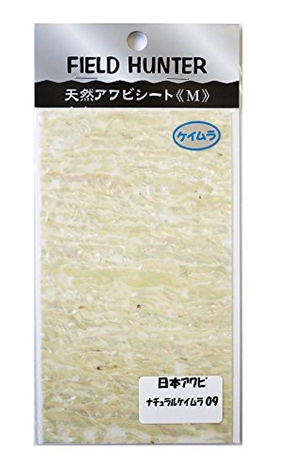 分類テンション単調なフィールドハンター アワビシート M 日本 ナチュラルケイムラ.