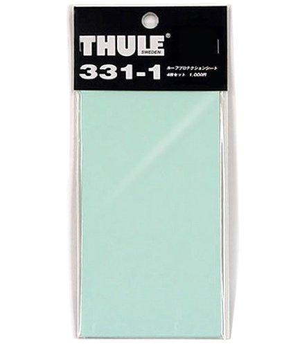 THULE スーリー TH331-1 プロテクションシート4枚セット ルーフオン用 傷防止透明シール