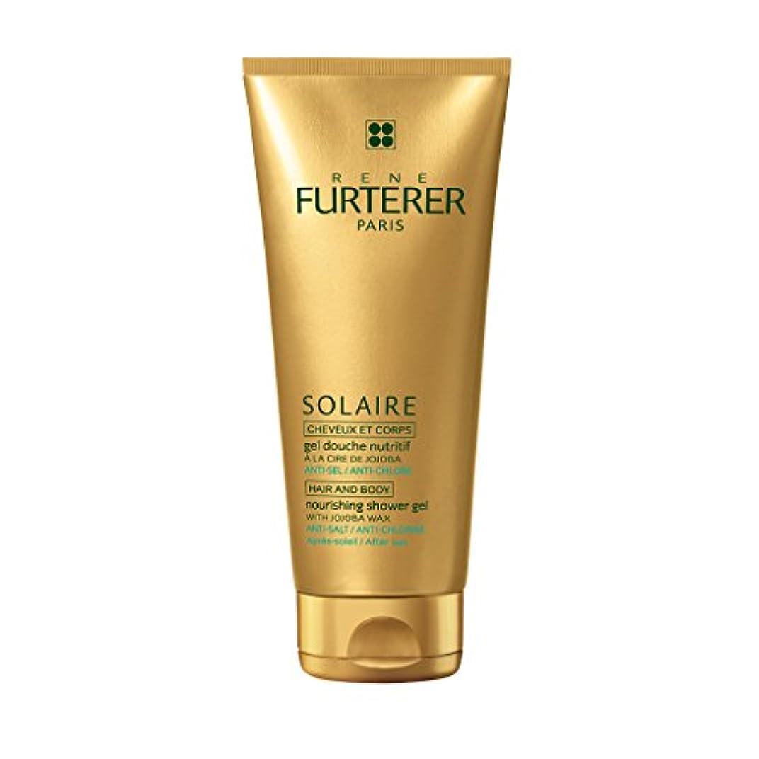 新年鋼作曲家ルネ フルトレール Solaire Nourishing Shower Gel with Jojoba Wax (Hair and Body) 200ml