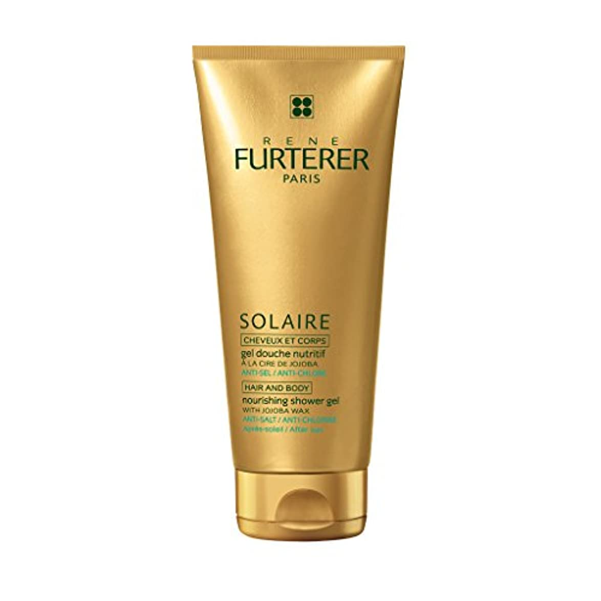 合図経験飾るルネ フルトレール Solaire Nourishing Shower Gel with Jojoba Wax (Hair and Body) 200ml