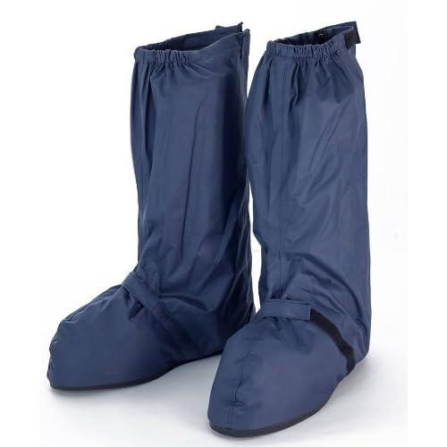 (ワンチャー) WANCHER 雨天 通勤 / 通学 に 靴が濡れない ! 防水 レイン シューズカバー 靴の上からそのままはける バイク 自転車 に最適! ODsc16NV 4042