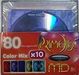 PrimeDisc プライムディスク MD ミニディスク 80分 10本