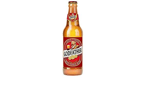 Amazon.co.jp: GOD FATHER(ゴッドファーザー) スーパーストロング プレミアムビール 330ml-6本 瓶 インドビール :  食品・飲料・お酒