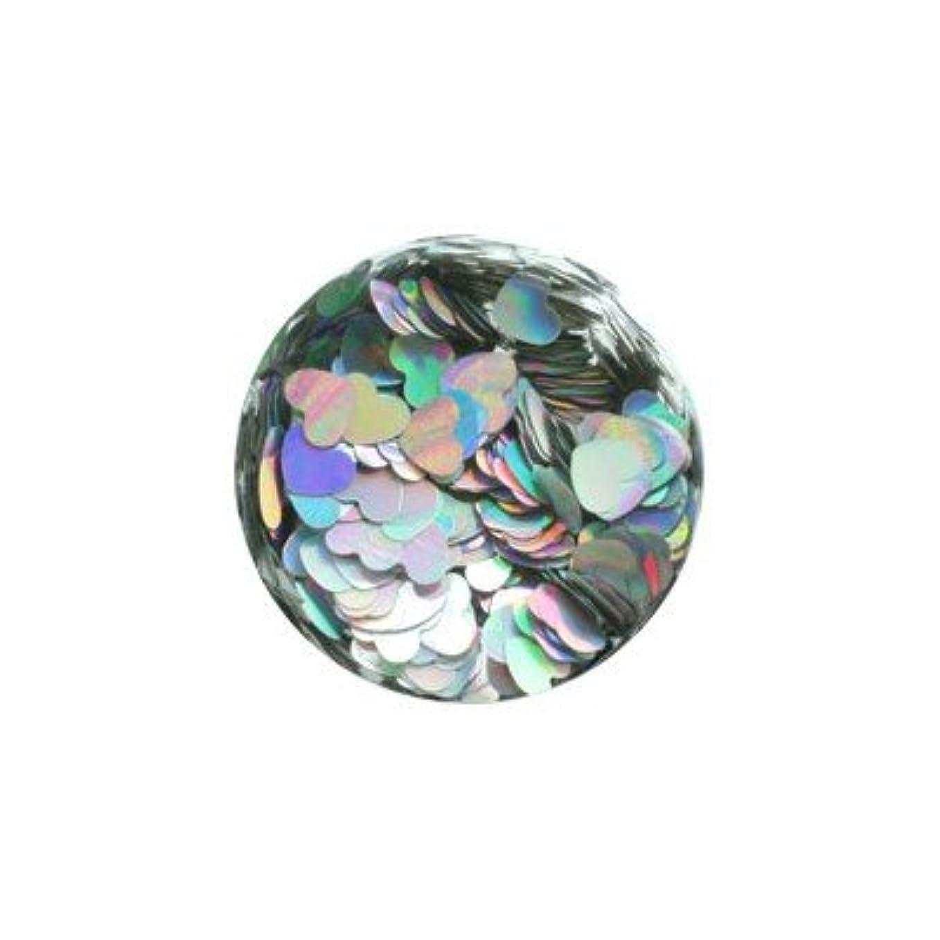 カルシウム精査するダイヤルerikonail JC ERI-76 ホロシルバーハート