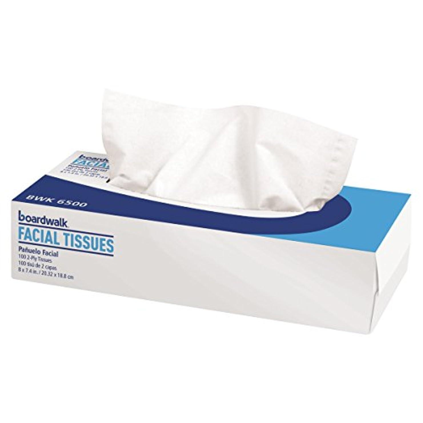 発見する外交官抽出Facial Tissue, Flat Box, 100 Sheets/Box, 30 Boxes/Carton (並行輸入品)
