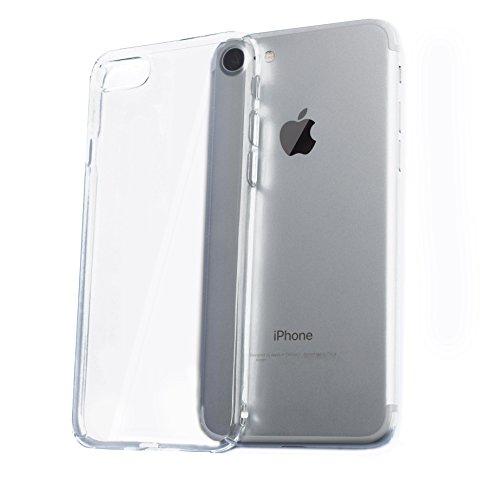 ZAZ 超軽量10g iPhone7 クリアハードケース 上下左右4方向 薄型 高透明度 クリアケース ( ハードケース ) 厚さ 0.5mm 上下左右4方向・裏面カバー (ポリカーボネート素材) ストラップホール有り