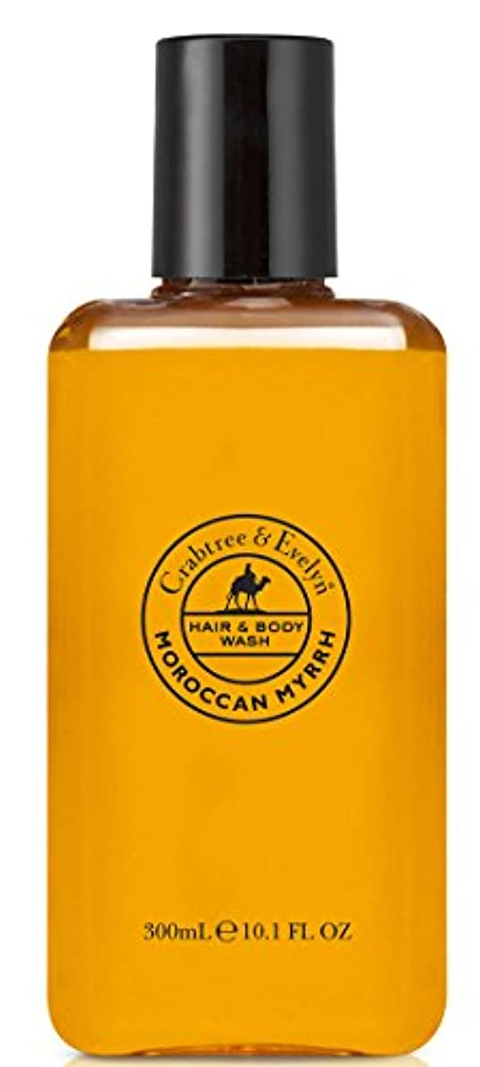 状態プレゼンテーション静脈Crabtree & Evelyn Moroccan Myrrh Hair and Body Wash 300 ml