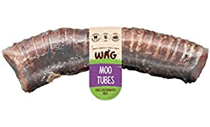 Moo Tube 10 Pack, Grain Free Hypoallergenic Natural Australian Made Dog Treat Chew, Soft Healthy Chew