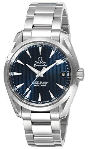 [オメガ]OMEGA 腕時計 シーマスターアクアテラ ブルー...