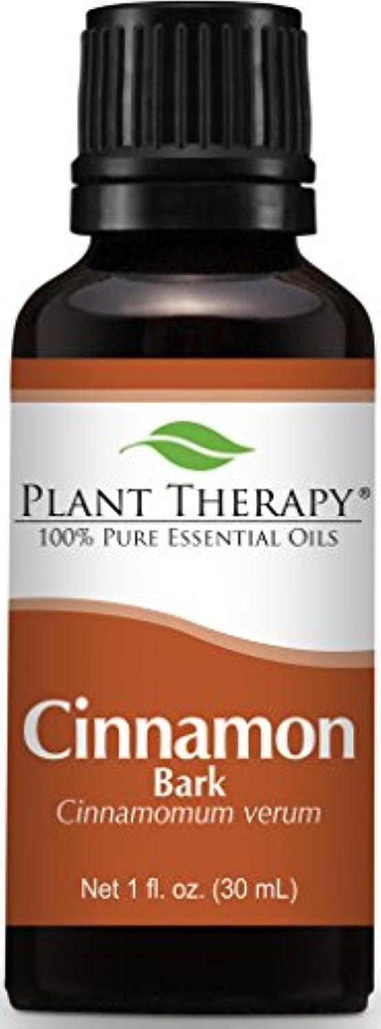 要旨ディスカウント正規化Cinnamon Bark Essential Oil 30 ml (1 oz) 100% Pure, Undiluted, Therapeutic Grade by Plant Therapy Essential Oils