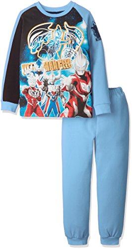 (バンダイ)bandai ウルトラマンジードさわってたのしい! 光るパジャマ AR-2389956  サックス 110cm